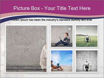 Tramp sitting PowerPoint Templates - Slide 19