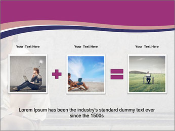 Tramp sitting PowerPoint Templates - Slide 22