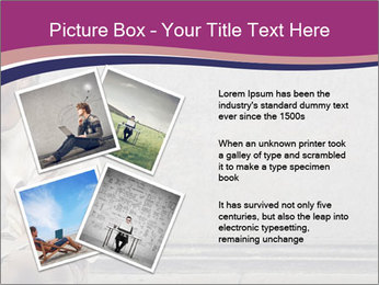 Tramp sitting PowerPoint Templates - Slide 23