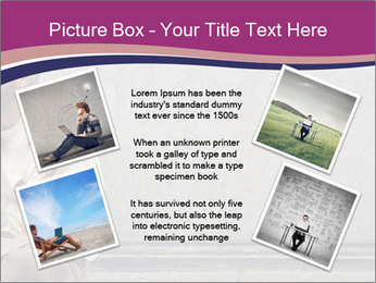 Tramp sitting PowerPoint Templates - Slide 24
