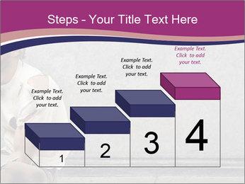 Tramp sitting PowerPoint Template - Slide 64