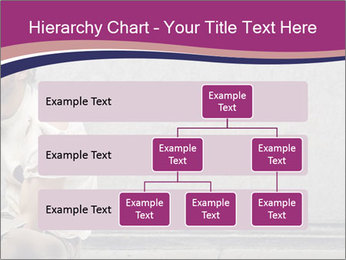 Tramp sitting PowerPoint Template - Slide 67