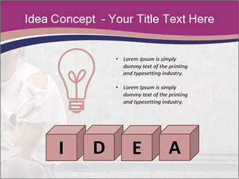 Tramp sitting PowerPoint Templates - Slide 80