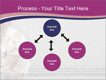 Tramp sitting PowerPoint Template - Slide 91