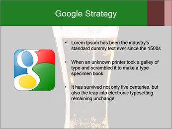 Glass of fresh lager beer PowerPoint Templates - Slide 10