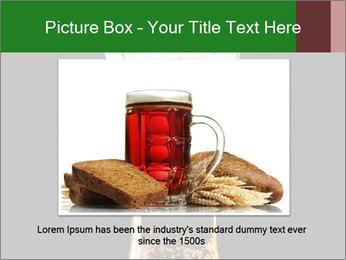 Glass of fresh lager beer PowerPoint Templates - Slide 15