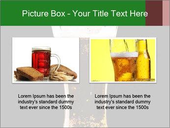 Glass of fresh lager beer PowerPoint Templates - Slide 18