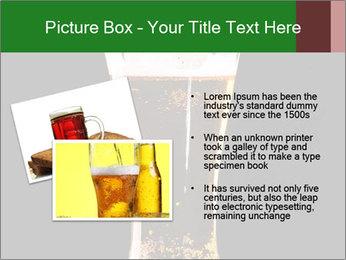 Glass of fresh lager beer PowerPoint Templates - Slide 20