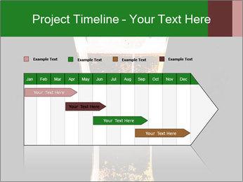 Glass of fresh lager beer PowerPoint Templates - Slide 25