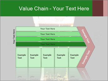 Glass of fresh lager beer PowerPoint Templates - Slide 27