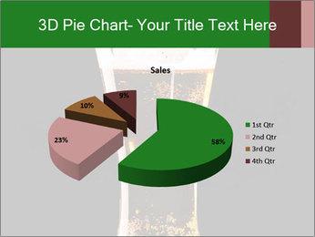 Glass of fresh lager beer PowerPoint Templates - Slide 35
