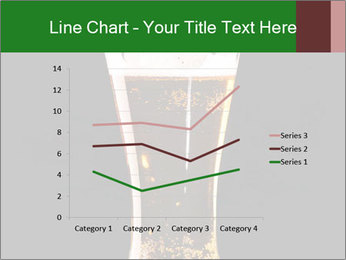 Glass of fresh lager beer PowerPoint Templates - Slide 54