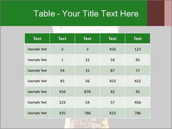 Glass of fresh lager beer PowerPoint Templates - Slide 55