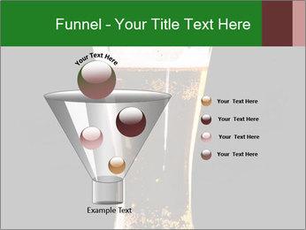 Glass of fresh lager beer PowerPoint Templates - Slide 63
