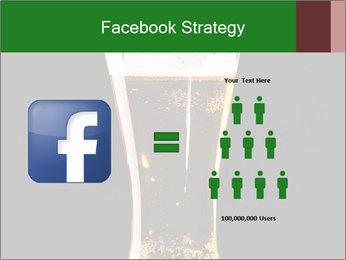 Glass of fresh lager beer PowerPoint Templates - Slide 7