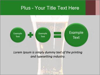 Glass of fresh lager beer PowerPoint Templates - Slide 75