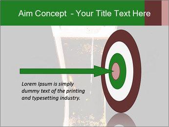 Glass of fresh lager beer PowerPoint Templates - Slide 83
