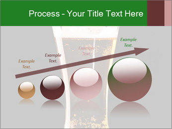 Glass of fresh lager beer PowerPoint Templates - Slide 87