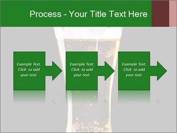 Glass of fresh lager beer PowerPoint Templates - Slide 88