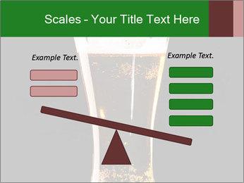 Glass of fresh lager beer PowerPoint Templates - Slide 89