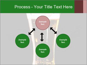 Glass of fresh lager beer PowerPoint Templates - Slide 91