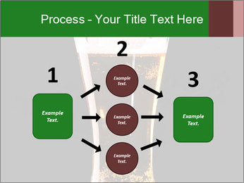 Glass of fresh lager beer PowerPoint Templates - Slide 92