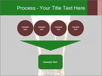 Glass of fresh lager beer PowerPoint Templates - Slide 93