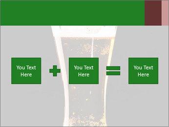 Glass of fresh lager beer PowerPoint Templates - Slide 95