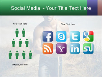 Strong handsome man PowerPoint Templates - Slide 5
