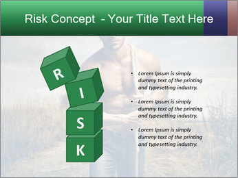 Strong handsome man PowerPoint Template - Slide 81