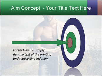 Strong handsome man PowerPoint Templates - Slide 83