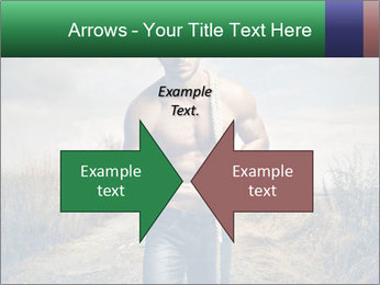 Strong handsome man PowerPoint Templates - Slide 90