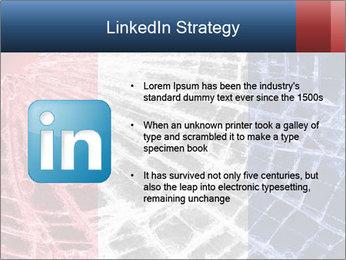 Isolated broken glass PowerPoint Template - Slide 12