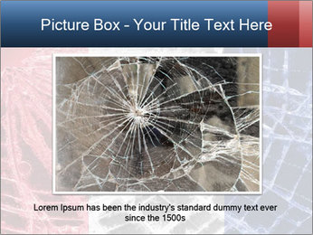 Isolated broken glass PowerPoint Templates - Slide 16