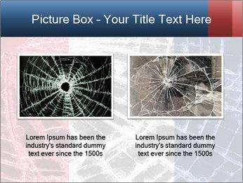 Isolated broken glass PowerPoint Template - Slide 18