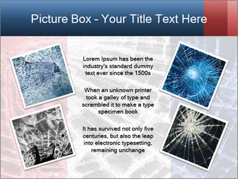 Isolated broken glass PowerPoint Templates - Slide 24