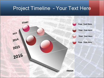 Isolated broken glass PowerPoint Templates - Slide 26