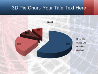 Isolated broken glass PowerPoint Template - Slide 35