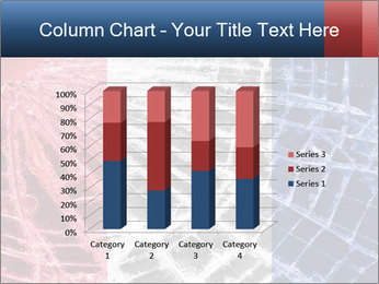 Isolated broken glass PowerPoint Template - Slide 50