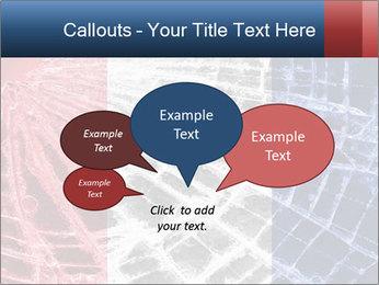 Isolated broken glass PowerPoint Template - Slide 73