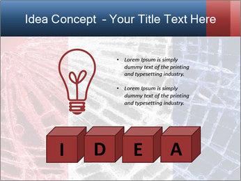 Isolated broken glass PowerPoint Template - Slide 80