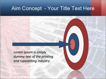 Isolated broken glass PowerPoint Template - Slide 83