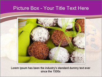 Pile of junk food PowerPoint Template - Slide 15