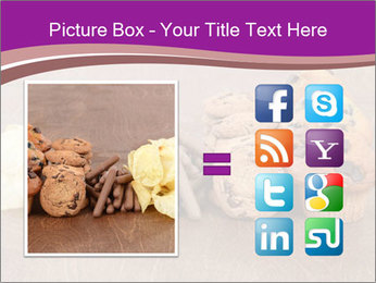 Pile of junk food PowerPoint Template - Slide 21