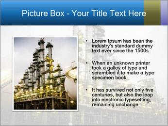 Petrochemical plant PowerPoint Template - Slide 13