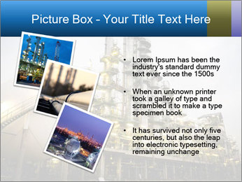 Petrochemical plant PowerPoint Template - Slide 17