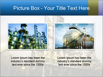 Petrochemical plant PowerPoint Template - Slide 18