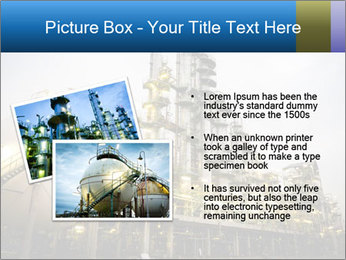 Petrochemical plant PowerPoint Template - Slide 20