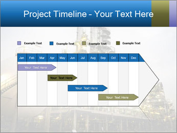 Petrochemical plant PowerPoint Template - Slide 25