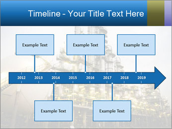 Petrochemical plant PowerPoint Template - Slide 28